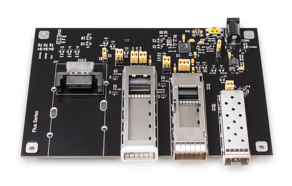 SFPTotal Plus is universal coding board for SFP, XFP and QSFP transceivers